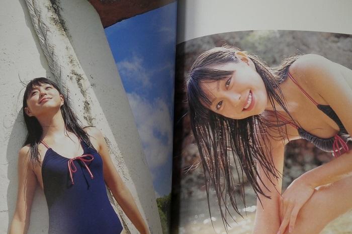 【大川藍 ファースト写真集 『 藍 』初版 帯付 DVD未開封】アイドリング!!!_画像10