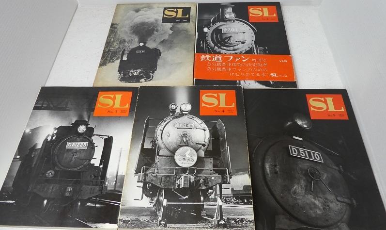 【鉄道ファン増刊号『SL』№1~№10全10冊セット】_画像2