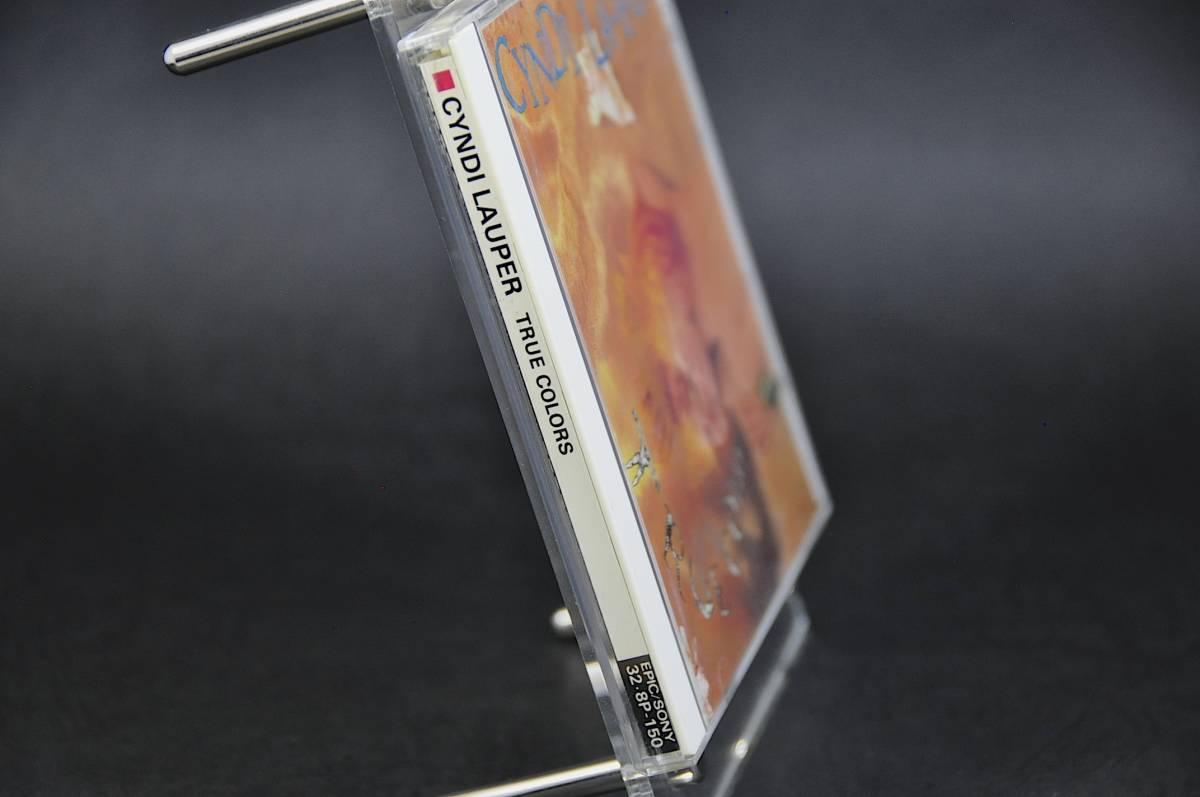 シンディ・ローパー トゥルー・カラーズ /Cyndi Lauper True Colors 86年盤 10曲収録 国内盤 旧規格 32・8P-150 税表記なしCSR刻印 美盤!!_画像4