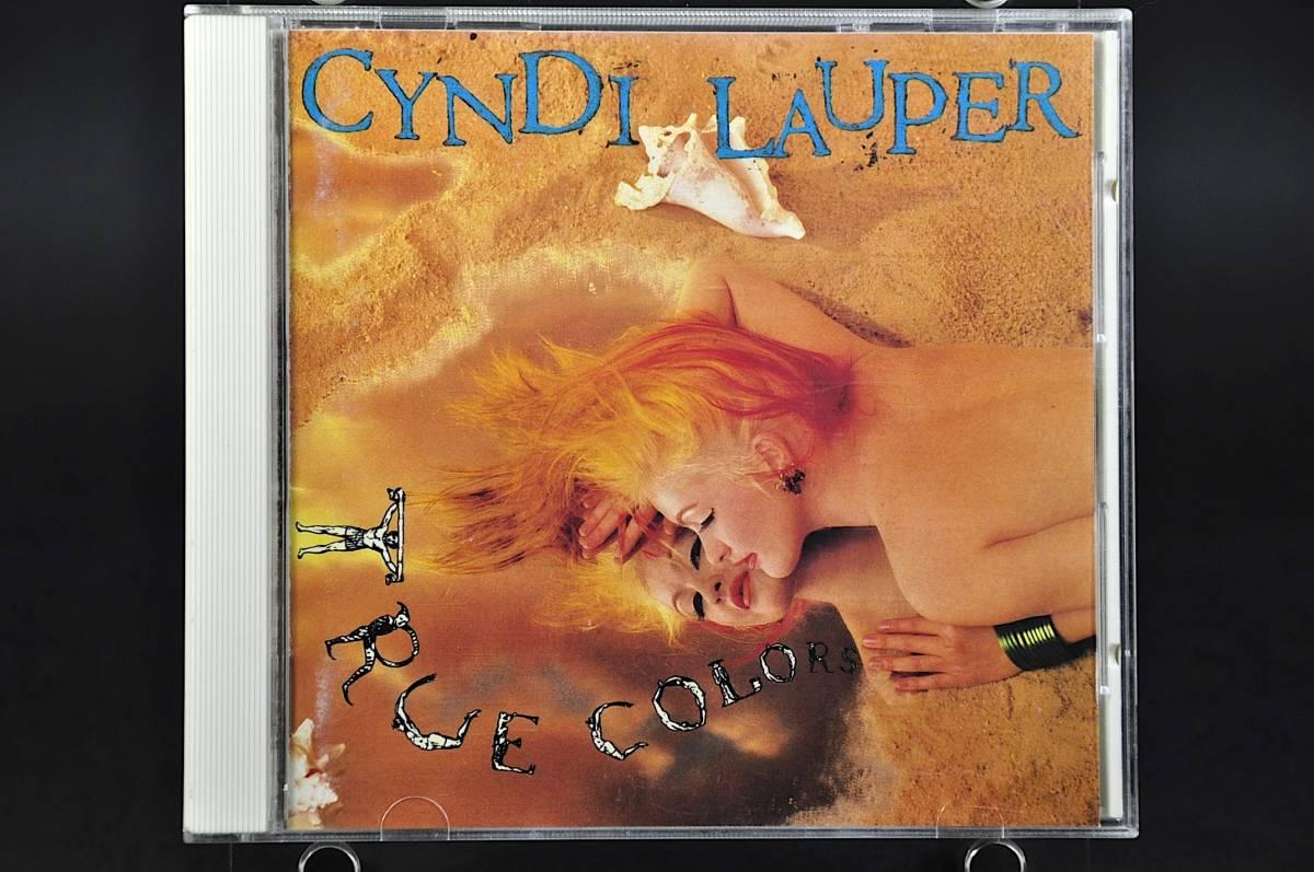 シンディ・ローパー トゥルー・カラーズ /Cyndi Lauper True Colors 86年盤 10曲収録 国内盤 旧規格 32・8P-150 税表記なしCSR刻印 美盤!!_画像1