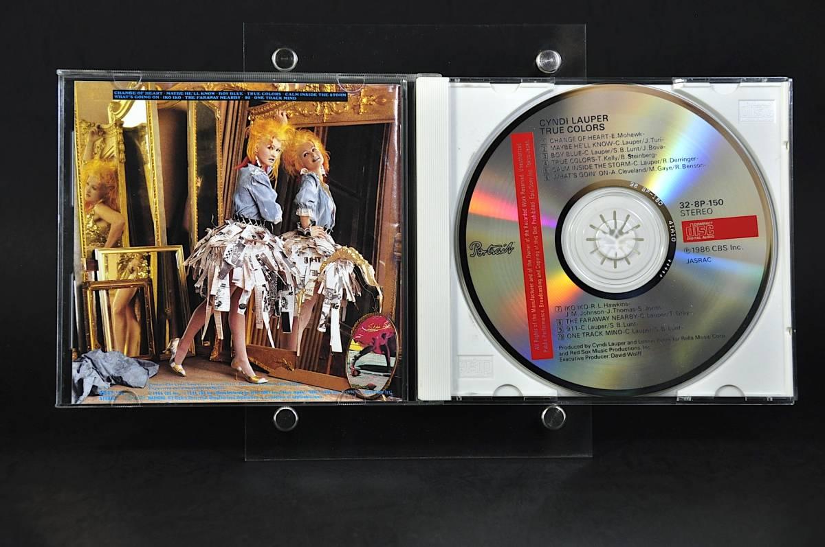 シンディ・ローパー トゥルー・カラーズ /Cyndi Lauper True Colors 86年盤 10曲収録 国内盤 旧規格 32・8P-150 税表記なしCSR刻印 美盤!!_画像3