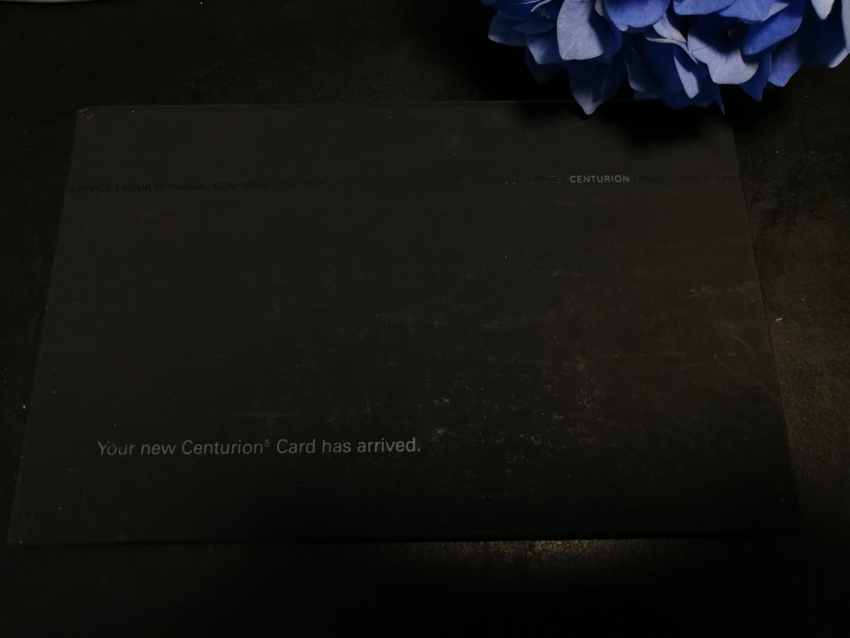 アメリカンエキスプレス センチュリオンカード 箱 アメックス センチュリオン ブラックカード_画像1
