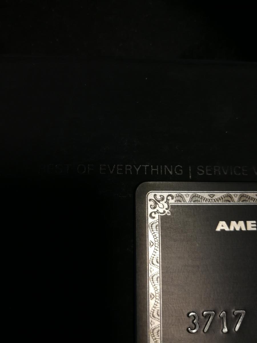 アメリカンエキスプレス センチュリオンカード 箱 アメックス センチュリオン ブラックカード_画像2