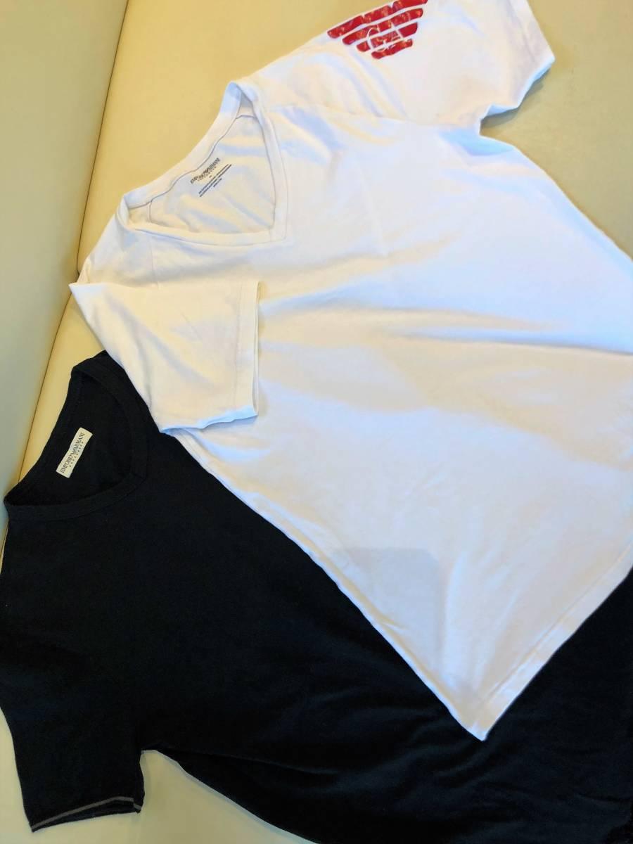 ARMANI エンポリオアルマーニ 2枚セット イーグル Tシャツ★アンダーウェア