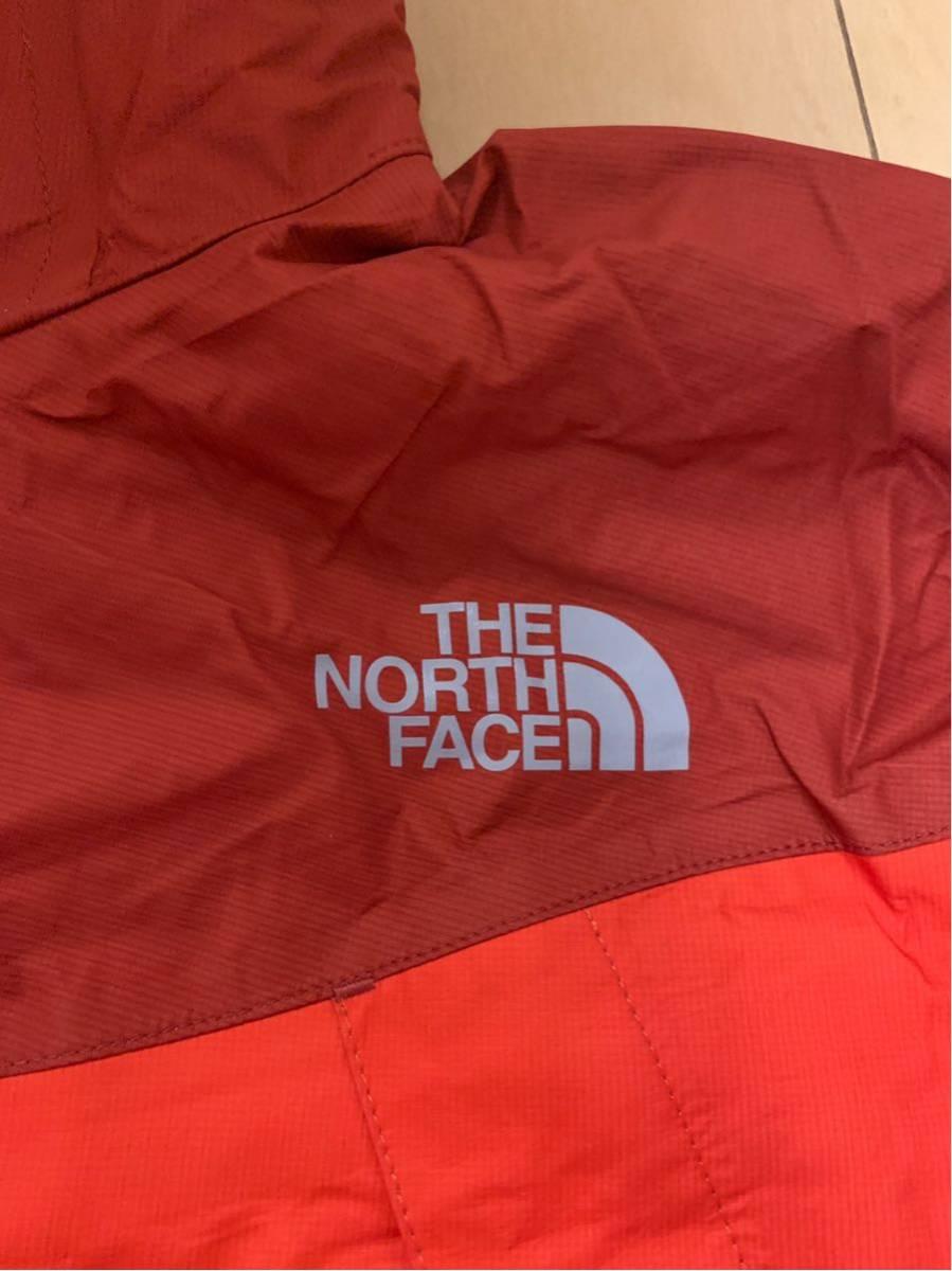 THE NORTH FACE 上下セット レインスーツ ゴアテックス Gore-Tex 新古品 ノースフェイス レインウェア 数回のみ使用 Lサイズ 定価35,640円_画像4