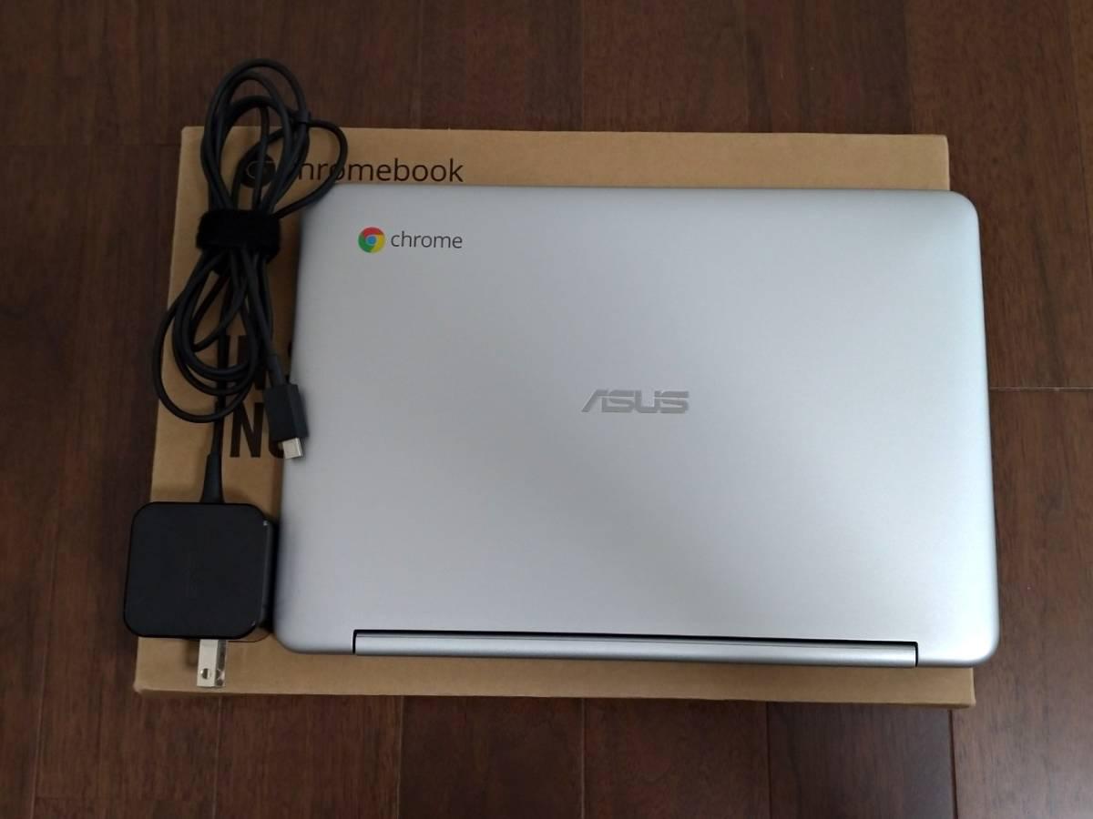 ASUS Chromebook Flip C100PA メモリ4G USキーボード 中古