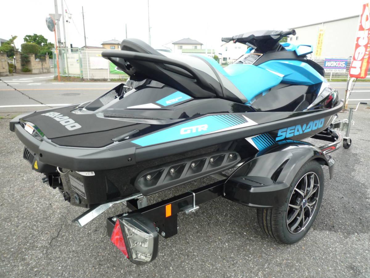 値下げ!最落ナシ!☆新艇ラスト一台!SEA-DOO GTR230 メーカー完売!☆新車 SOREX ZERO-500B☆ _画像3