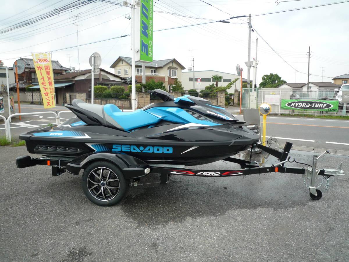 値下げ!最落ナシ!☆新艇ラスト一台!SEA-DOO GTR230 メーカー完売!☆新車 SOREX ZERO-500B☆ _画像2