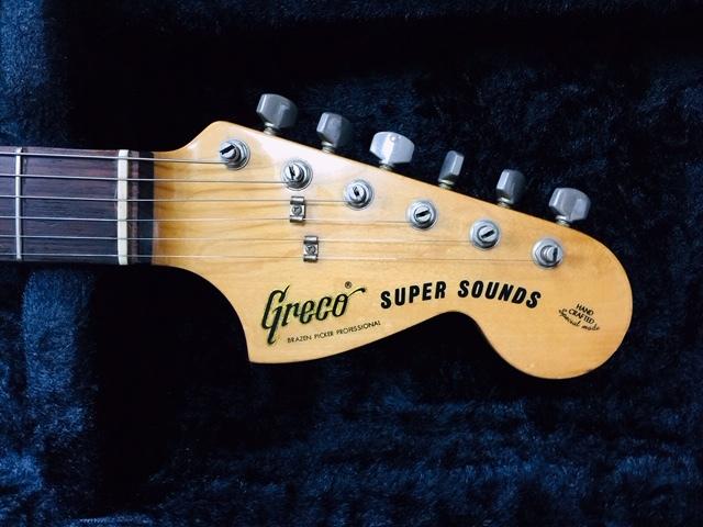 超目玉特価品!!★Greco SUPER SOUNDS 1978年製ビンテージ!!★リッチーブラックモア風!!_画像4