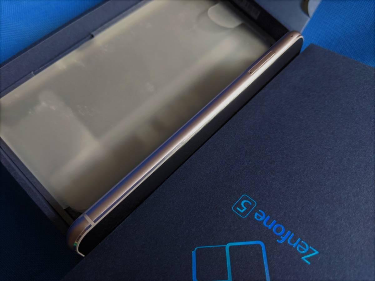 【極美品】 良品 SIMフリー ASUS Zenfone 5 ZE620KL メーカー保証付き シルバー国内版_画像6