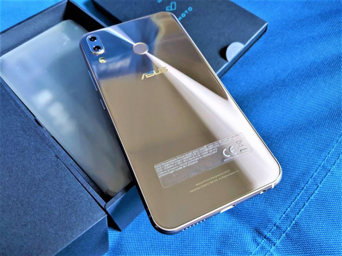 【極美品】 良品 SIMフリー ASUS Zenfone 5 ZE620KL メーカー保証付き シルバー国内版_画像3