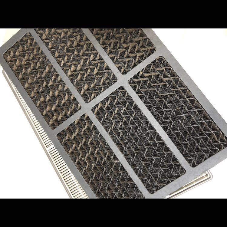 希少 アムウェイ 空気清浄機 フィルターセット 臭気用カーボン脱臭 E-2527 粒子用 E-2528_画像7