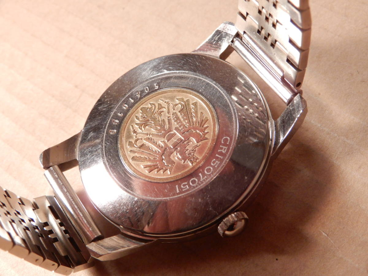 1)腕時計 シチズン クロノメーター CITIZEN Chronometer 31石 メンズ 手巻きウォッチ_画像3