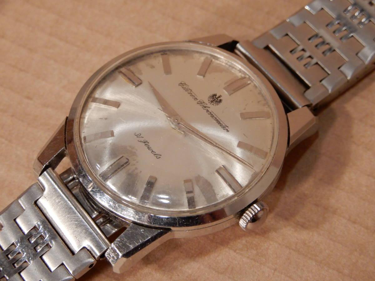 1)腕時計 シチズン クロノメーター CITIZEN Chronometer 31石 メンズ 手巻きウォッチ_画像7