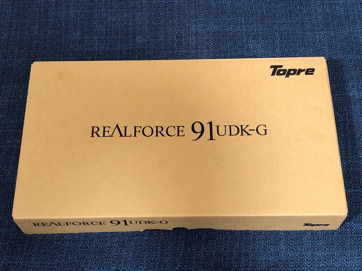 東プレ Topre REALFORCE 91UDK-G USBキーボード _画像3