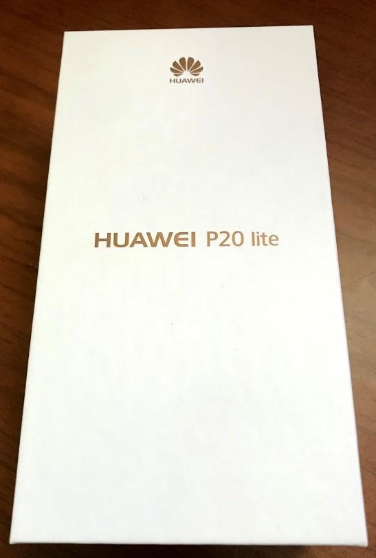 SIMフリー Huawei P20lite 新品未使用未開封 UQモバイル版②_画像2