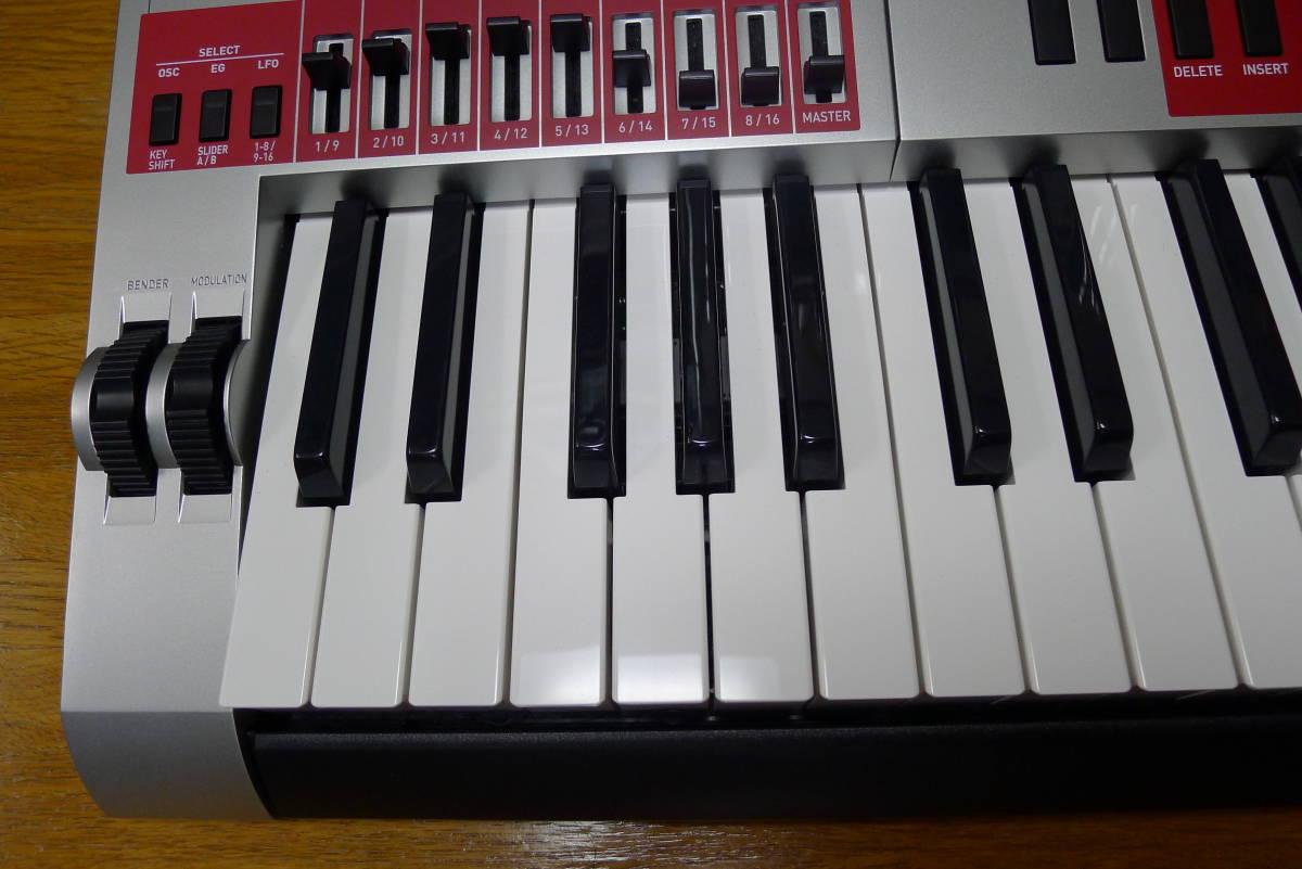 casio XW-G1 カシオシンセサイザー 61鍵盤_画像6