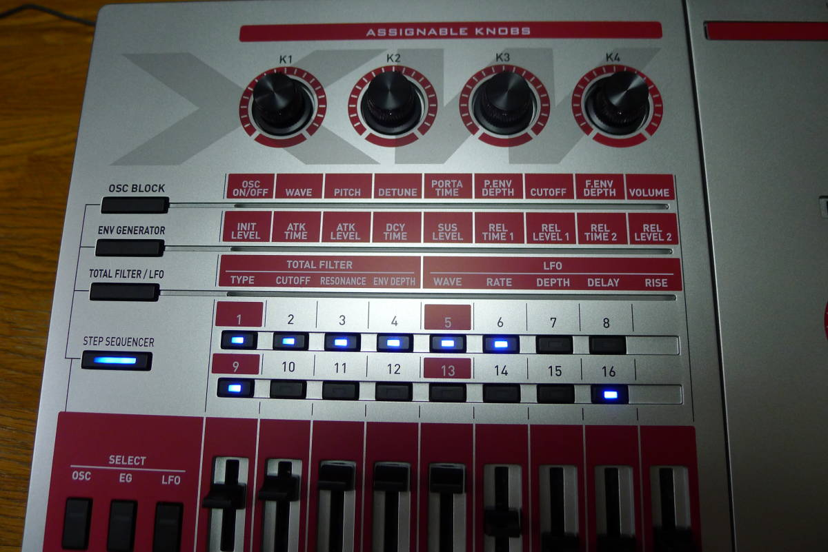 casio XW-G1 カシオシンセサイザー 61鍵盤_画像2
