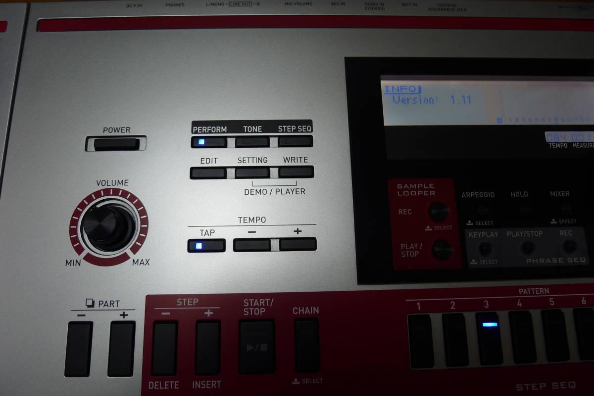 casio XW-G1 カシオシンセサイザー 61鍵盤_画像3