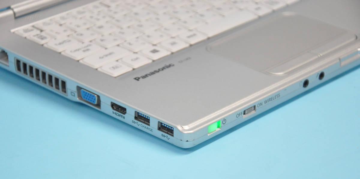 ♪ 良品 Panasonic CF-LX3 ♪ Corei7-4600U / メモリ 8GB / 新SSD:240GB / カメラ / Bluetooth / Office / Win10 _画像5