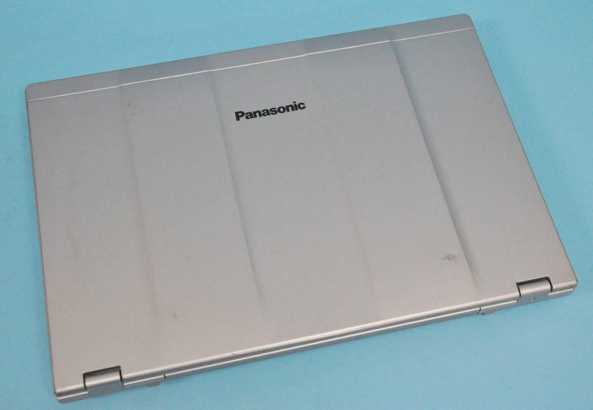 ♪ 美品 使用時間1240H ♪ Panasonic CF-LX3 Corei7-4600U / メモリ 8GB / 新SSD:512GB / カメラ / Bluetooth / Office / Win10_画像3
