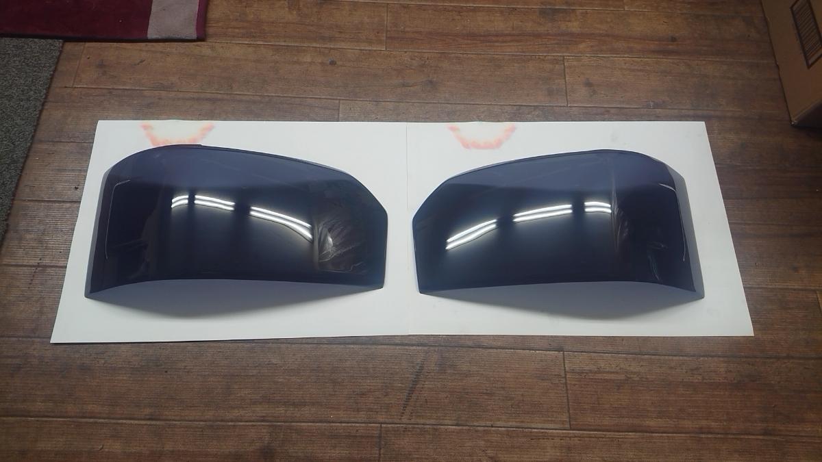 200系ハイエース4型 スモーク ヘッドライト カバー パネル