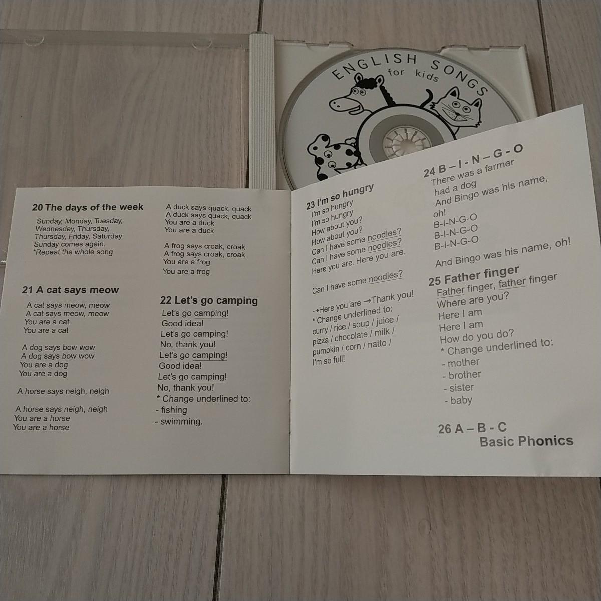 子供英語 歌 26曲 ② ABC フォニックス_画像5