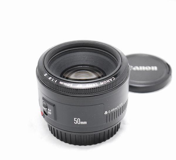 【良品】Canon キヤノン EF 50mm f/1.8 Ⅱ_画像3