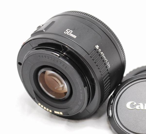 【良品】Canon キヤノン EF 50mm f/1.8 Ⅱ_画像2