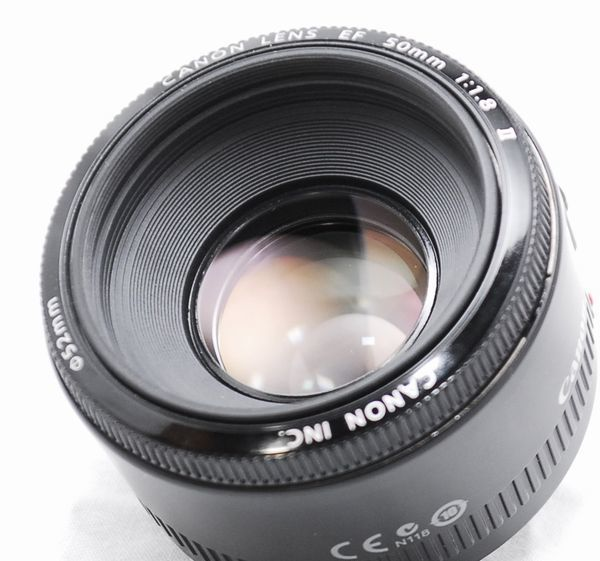 【良品】Canon キヤノン EF 50mm f/1.8 Ⅱ_画像4