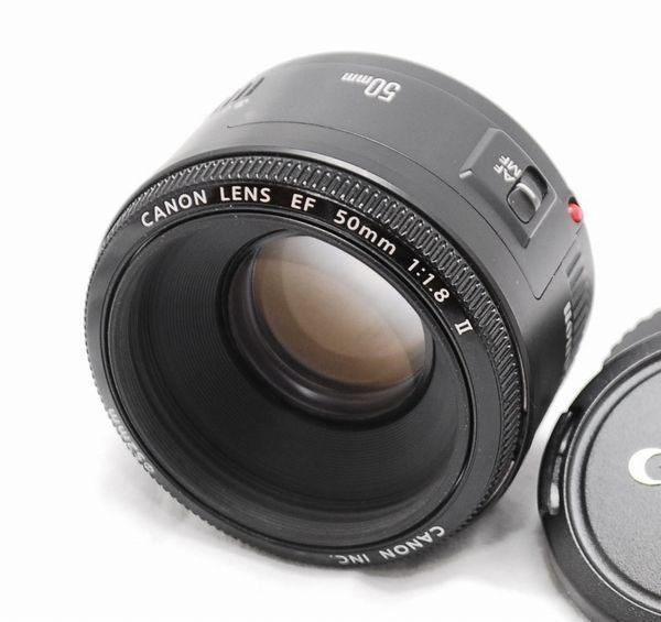 【良品】Canon キヤノン EF 50mm f/1.8 Ⅱ