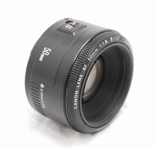 【良品】Canon キヤノン EF 50mm f/1.8 Ⅱ_画像5