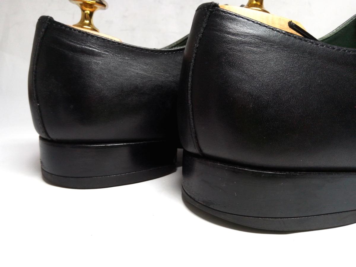 大変美品★【MADRAS GORE-TEX】マドラス ゴアテックス 25cm 黒 ストレートチップ 革靴 ビジネスシューズ レザー ブラウン仕事 靴 メンズ_画像4