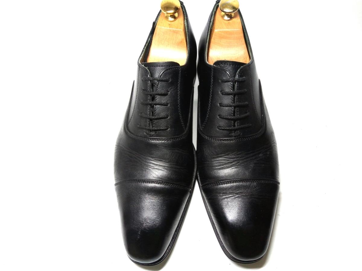 大変美品★【MADRAS GORE-TEX】マドラス ゴアテックス 25cm 黒 ストレートチップ 革靴 ビジネスシューズ レザー ブラウン仕事 靴 メンズ_画像2