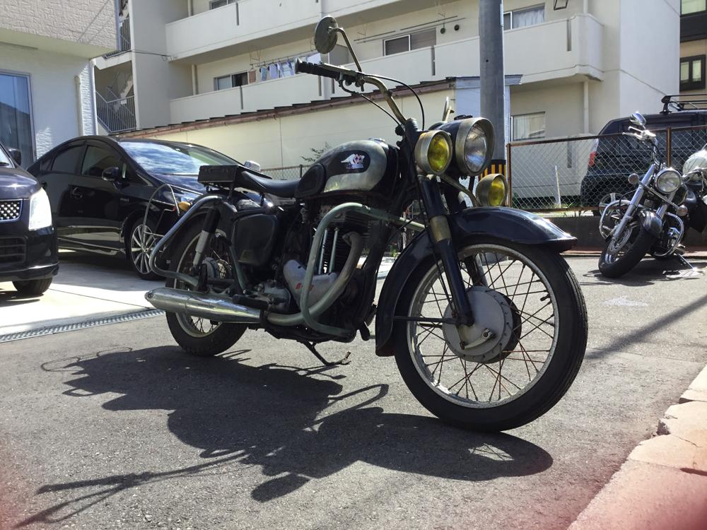 [書類・鍵あり] メグロ S8 / 検:旧車 絶版車 カワサキ_画像2