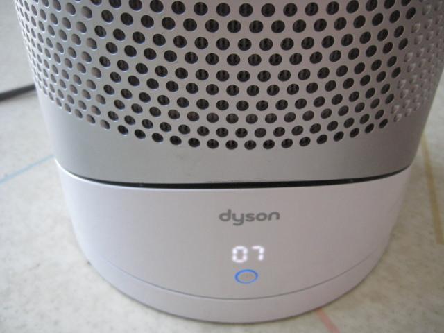 ジャンク☆ダイソン 空気清浄機能付 ヒーター dyson Pure Hot + Cool Link HP02WS ホワイト/シルバー ☆ジャンク品_画像6
