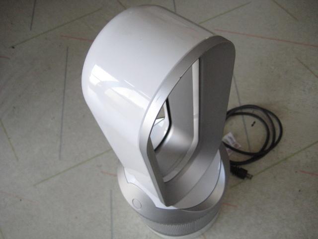 ジャンク☆ダイソン 空気清浄機能付 ヒーター dyson Pure Hot + Cool Link HP02WS ホワイト/シルバー ☆ジャンク品_画像3