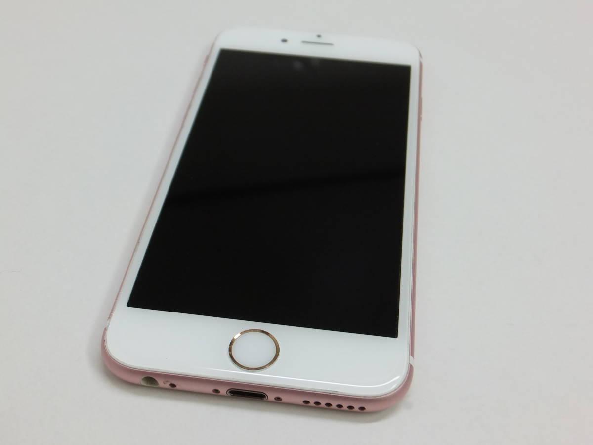 送料込 SIMフリー iPhone6s ローズピンク 64G