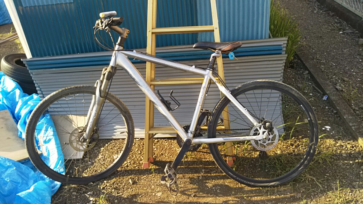 トレック TREK マウンテンバイク 自転車 ロードレース 26インチ アルミフレーム 山梨 8段ギア 4300 GIANT クロスバイク ディスクブレーキ