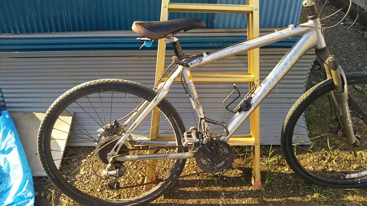 トレック TREK マウンテンバイク 自転車 ロードレース 26インチ アルミフレーム 山梨 8段ギア 4300 GIANT クロスバイク ディスクブレーキ_画像6