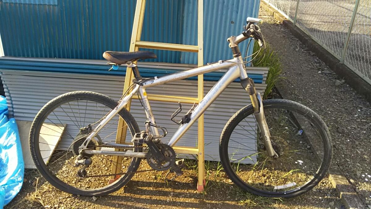 トレック TREK マウンテンバイク 自転車 ロードレース 26インチ アルミフレーム 山梨 8段ギア 4300 GIANT クロスバイク ディスクブレーキ_画像5