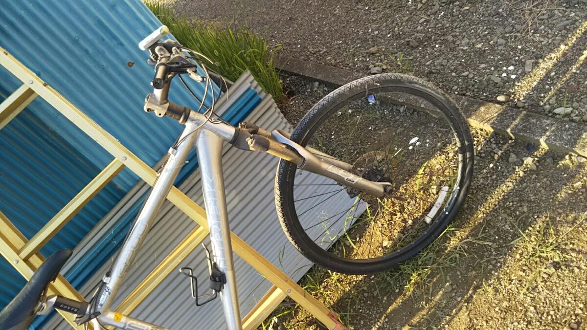 トレック TREK マウンテンバイク 自転車 ロードレース 26インチ アルミフレーム 山梨 8段ギア 4300 GIANT クロスバイク ディスクブレーキ_画像7