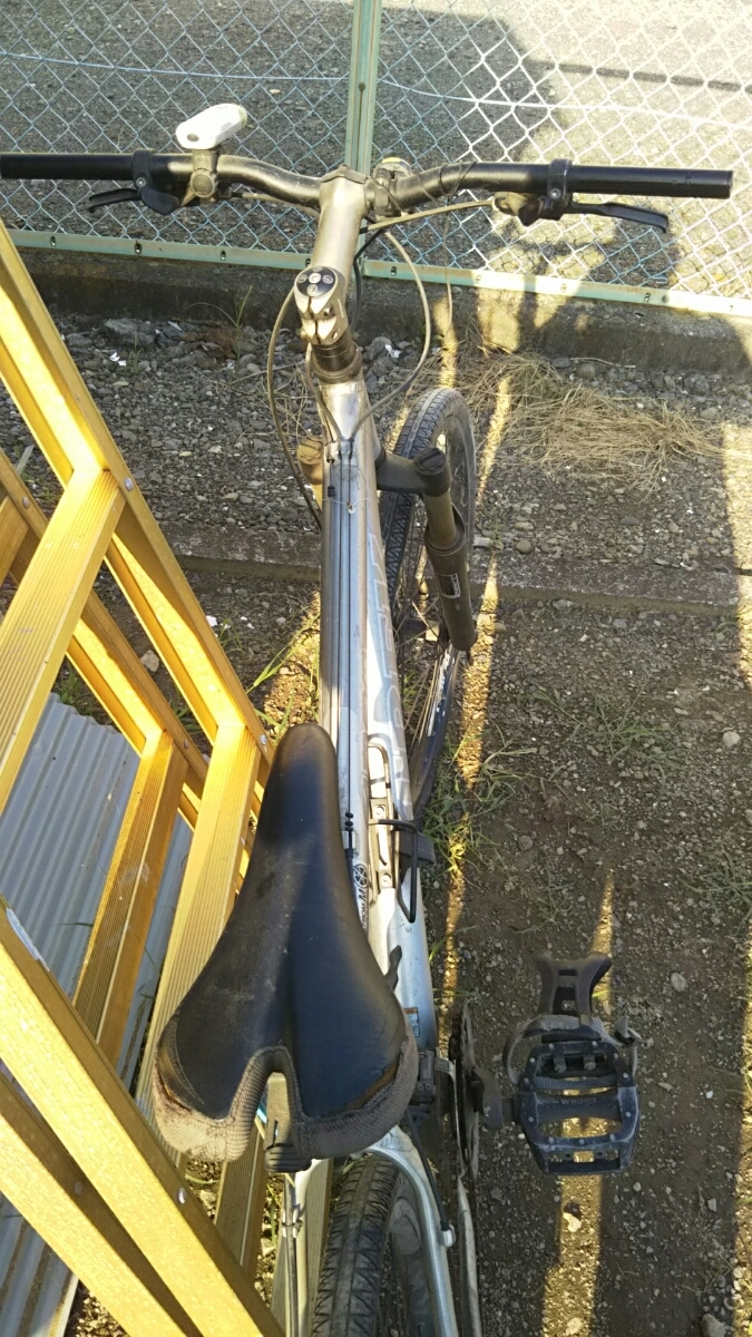 トレック TREK マウンテンバイク 自転車 ロードレース 26インチ アルミフレーム 山梨 8段ギア 4300 GIANT クロスバイク ディスクブレーキ_画像8