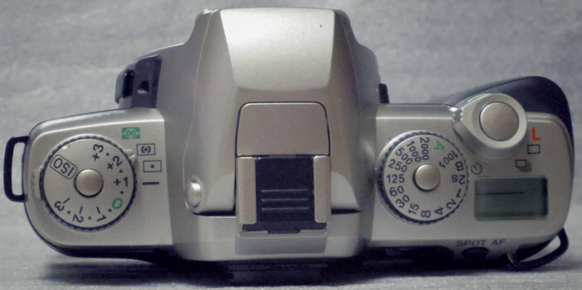 【PENTAX】MZ5 シルバーボディ (内臓ストロボ難有。)_画像5