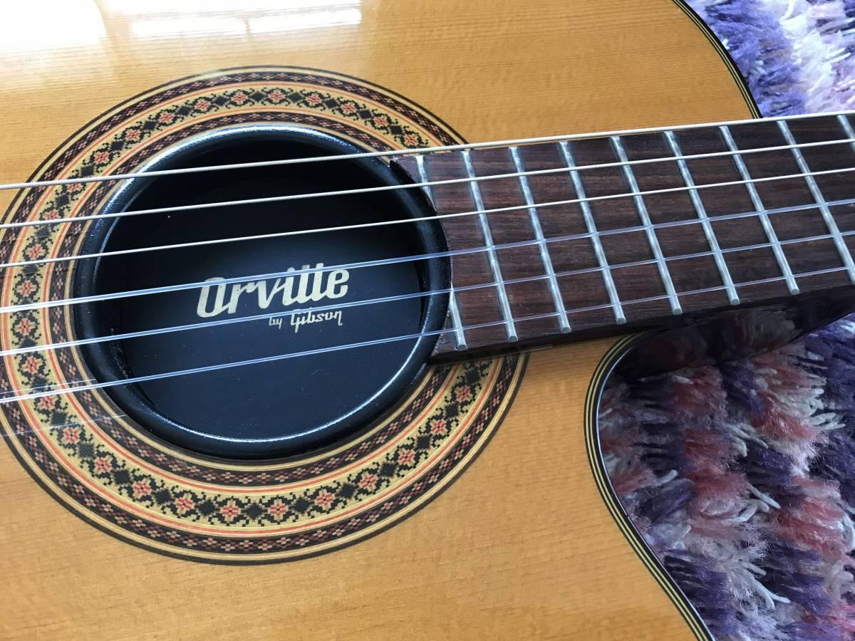 1円~最落なし! Orville by Gibson Chet Atkins CE NA 美品 状態良好!エレガット チェットアトキンス オービル ギブソン バイギブ 希少_画像4