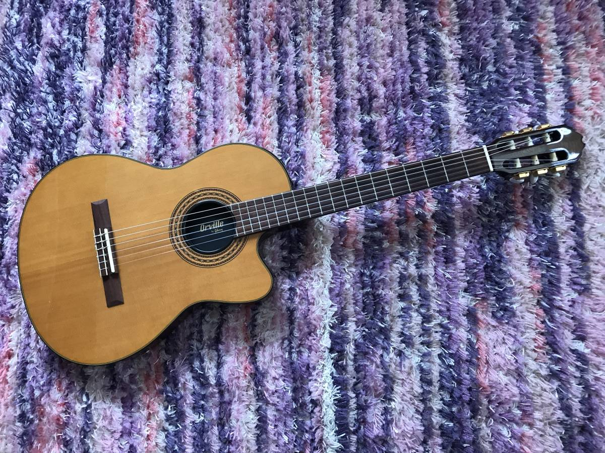 1円~最落なし! Orville by Gibson Chet Atkins CE NA 美品 状態良好!エレガット チェットアトキンス オービル ギブソン バイギブ 希少