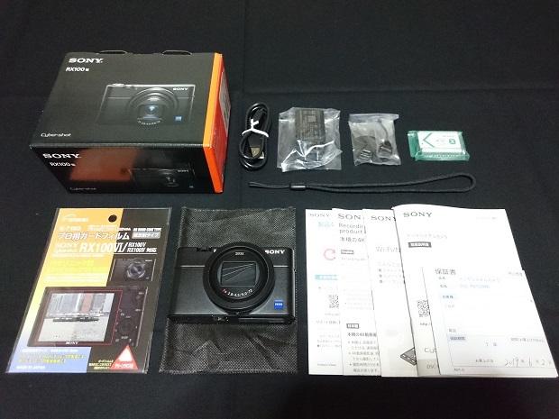 SONY ソニー Cyber-shot サイバーショット RX100Ⅵ(DSC-RX100M6) 元箱・保証残り有り おまけ付き [美品]