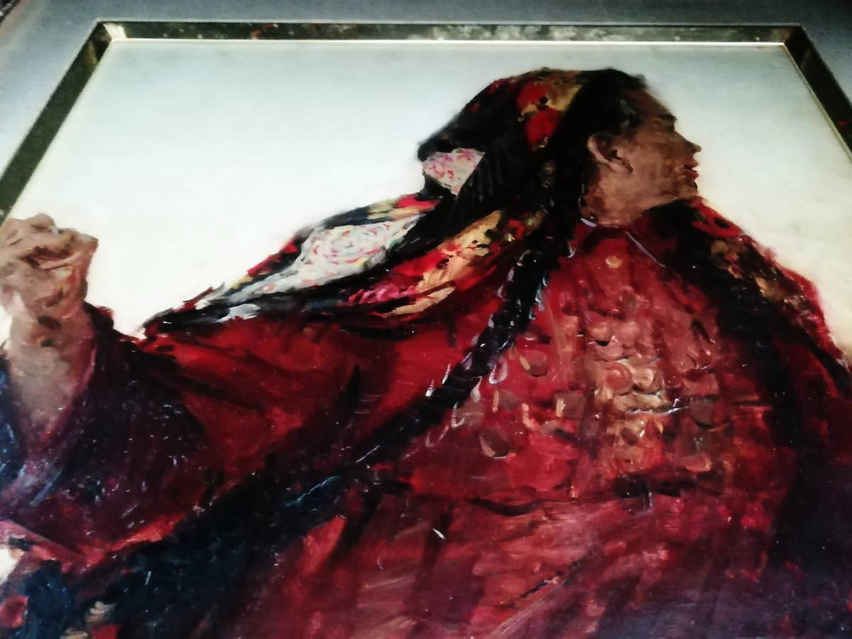 【真作】 現代ソビエト絵画 イゴシェフ B・A 「住みなれた小屋へのエチュード」 月光荘取扱い 【管理No.MT14】_画像4