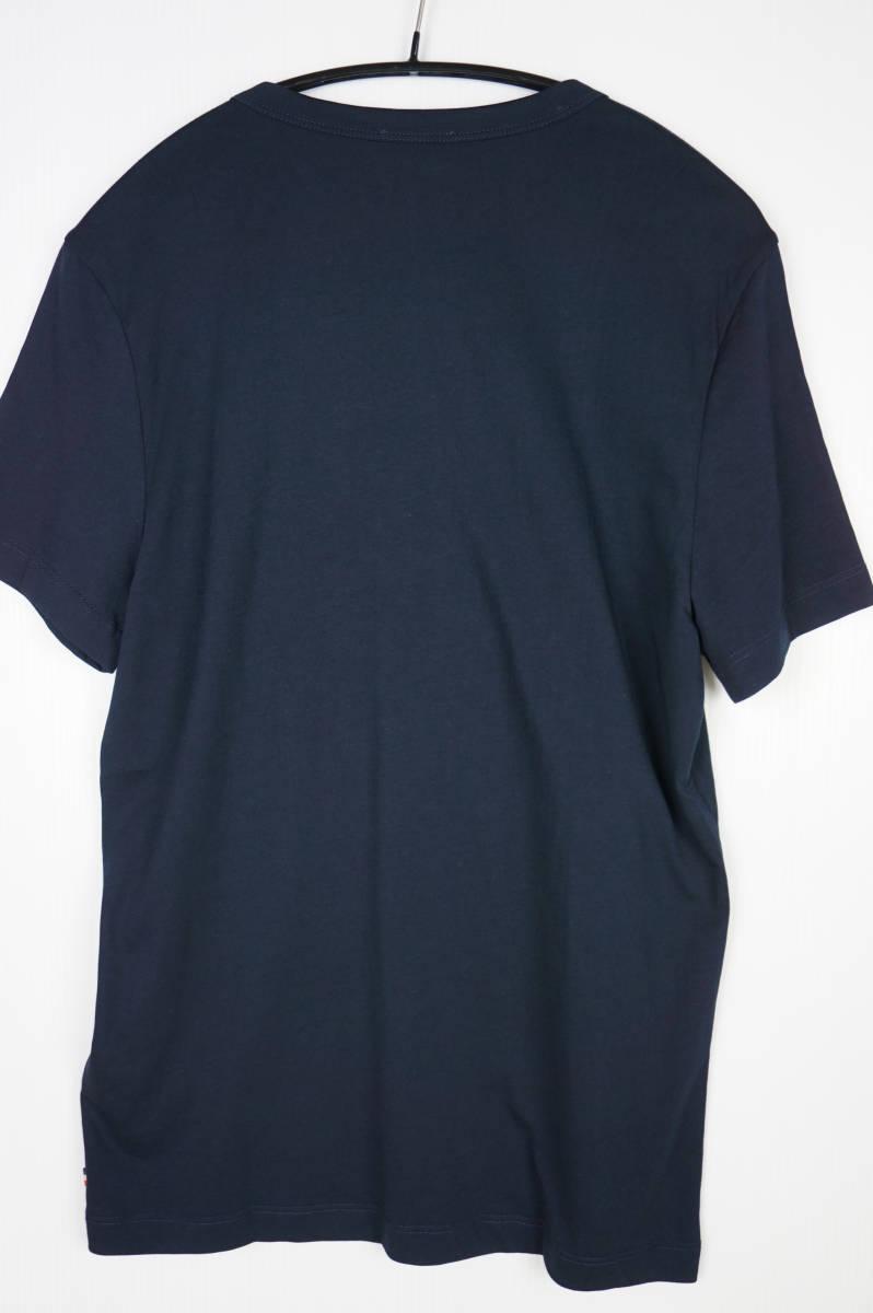 新品同様 希少モデル 国内正規品 モンクレール/ Tシャツ サイズS 刺繍特大ロゴ 最新認証タグ付(管理番号H19)_画像5