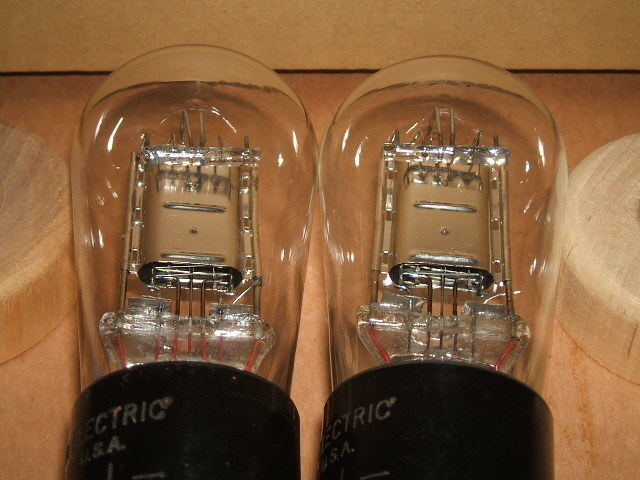 WESTERN ELECTRICの通信用直熱3極管 101J(=101F) ナス管2本セット_画像8
